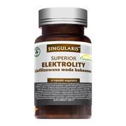 Singularis Elektrolity, liofilizowana woda kokosowa, kapsułki, 30 szt.