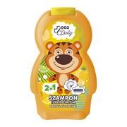 DOZ Daily, szampon i żel do mycia, koktajl egzotyczny, 250 ml