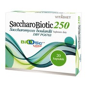 SaccharoBiotic 250, kapsułki, 20 szt.