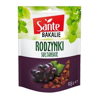 SANTE Bakalie, rodzynki, 125 g
