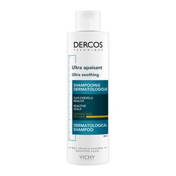 Vichy Dercos, ultrakojący szampon do włosów suchych, 200 ml
