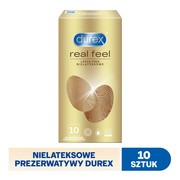 Durex Real Feel, prezerwatywy, 10 szt.