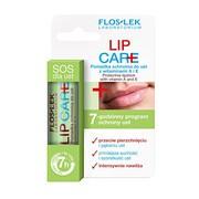 FlosLek Laboratorium Lip Care, pomadka ochronna do ust z witaminami A i E, 1 szt.