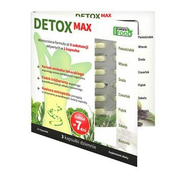 Detox Max, kapsułki, 21 szt.