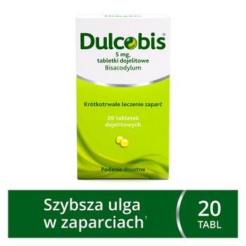 Dulcobis, 5 mg, tabletki dojelitowe, 20 szt.