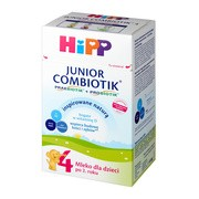 HiPP 4 Junior Combiotik, mleko następne, po 2. roku, proszek, 550 g
