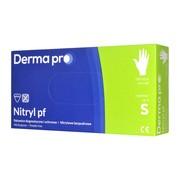 Derma Pro, rękawice diagnostyczne, nitrylowe, niejałowe, bezpudrowe, rozmiar S, 100 szt.