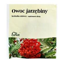 Owoc jarzębiny, herbatka ziołowa, 50 g (Flos)