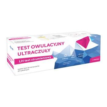Test Owulacyjny Ultraczuły, strumieniowy, 5 szt.