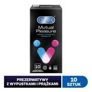 Durex Mutual Pleasure, prezerwatywy, 10 szt.