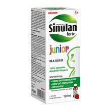 Sinulan Forte Junior, płyn doustny, 120 ml