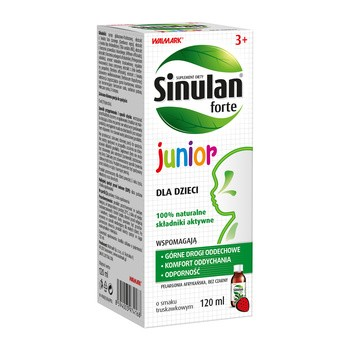 Sinulan Forte Junior, płyn doustny, 120 ml