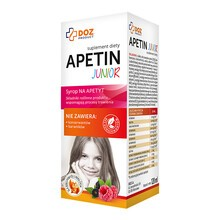 DOZ PRODUCT Apetin Junior, syrop, 120 ml