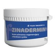 Zinadermin, krem ochronno-regenerujący z tlenkiem cynku, 70 g