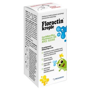Floractin, krople doustne, 5 ml