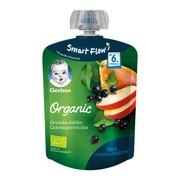 Gerber Organic, mus gruszka, jabłko, czarna porzeczka, 6 m+, 90 g