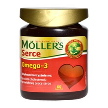 Mollers Serce, kapsułki, 60 szt.