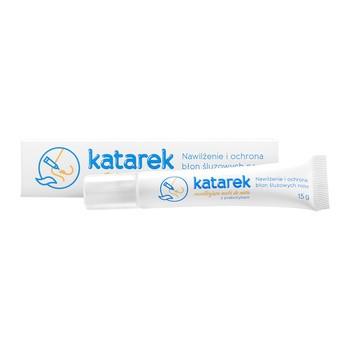 Katarek, nawilżająca maść do nosa z prebiotykiem, 15 g (tuba)