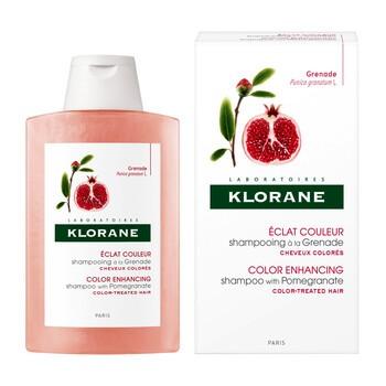Klorane, szampon na bazie wyciągu z granatu, 200 ml