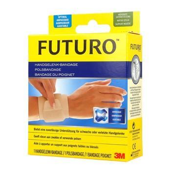 Futuro, opaska stabilizująca nadgarstek, kolor beżowy, uniwersalna