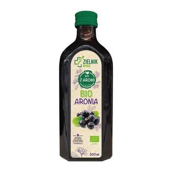 ZIELNIK DOZ BIO Aronia, sok, 500 ml