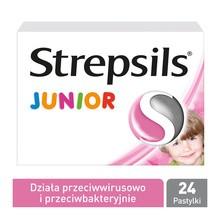 Strepsils Junior, pastylki, 24 szt.
