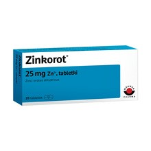 Zinkorot, 25 mg Zn2+, tabletki, 20 szt.
