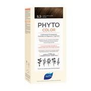 Phyto Color, farba do włosów, 5.3 jasny złoty kasztan, 1opakowanie