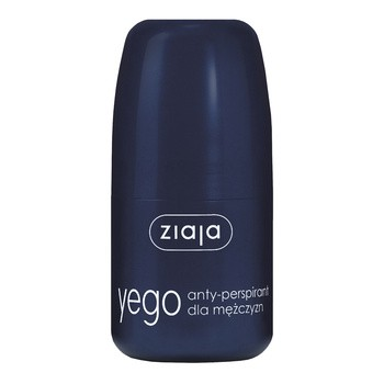 Ziaja Yego, antyperspirant, roll-on, 60 ml