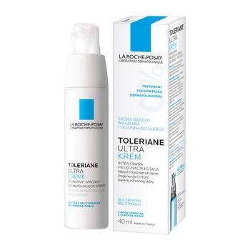 La Roche-Posay Toleriane Ultra, intensywna pielęgnacja kojąca do twarzy i pod oczy, skóra wrażliwa, 40 ml