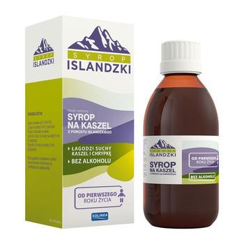 Syrop Islandzki na kaszel, 200 ml