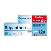 Zestaw Promocyjny Bepanthen Baby, maść ochronna, 100 g + 30 g GRATIS