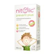 Pipi Nitolic Prevent Plus, spray przeciw wszawicy, 75 ml