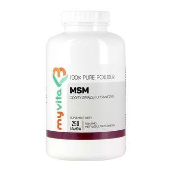 MyVita MSM, proszek, 250 g