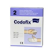 Codofix, siatka opatrunkowa elastyczna, rozmiar 2 (na dłoń, palce), 1 m