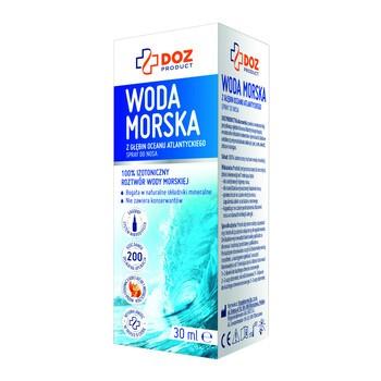 DOZ PRODUCT Woda morska, spray do nosa, 30 ml
