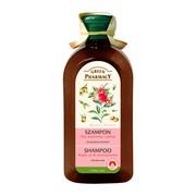 Green Pharmacy, szampon do włosów suchych, olej arganowy i granat, 350 ml