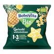 BoboVita Bio, gwiazdki wielozbożowe, ananasowe, 1-3 lata, 20 g