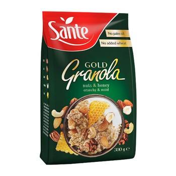 SANTE Granola gold, orzechowa, 300 g
