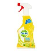 Dettol, wielofunkcyjny spray do powierzchni Power&Fresh, limonka i cytryna, 500 ml