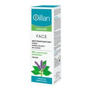Oillan Naturals Face, antyoksydacyjny krem nawilżający do twarzy, 50ml