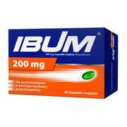 Ibum, 200 mg, kapsułki elastyczne, 60 szt.