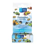Skarb Matki, Pomadka ochronna dla dzieci do ust, policzków i noska, smak gumy balonowej, 6,5 g