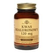 Solgar Kwas hialuronowy, 120 mg, tabletki, 30 szt.