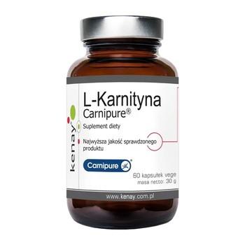 L-Karnityna Carnipure, kapsułki,  60 szt.