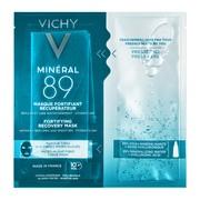 Vichy Mineral 89, maska wzmacniająco-regenerująca w płachcie, 29 g