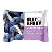 Very Berry, kremowe mydło w kostce, Acai & Amaranth Oil, 100 g
