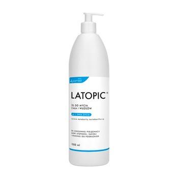 Latopic, żel do mycia ciała i włosów, 1000 ml