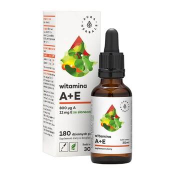 Witamina A+E, krople, 30 ml (Aura Herbals)