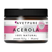 Avet Pure Acerola, proszek, 72,5 g